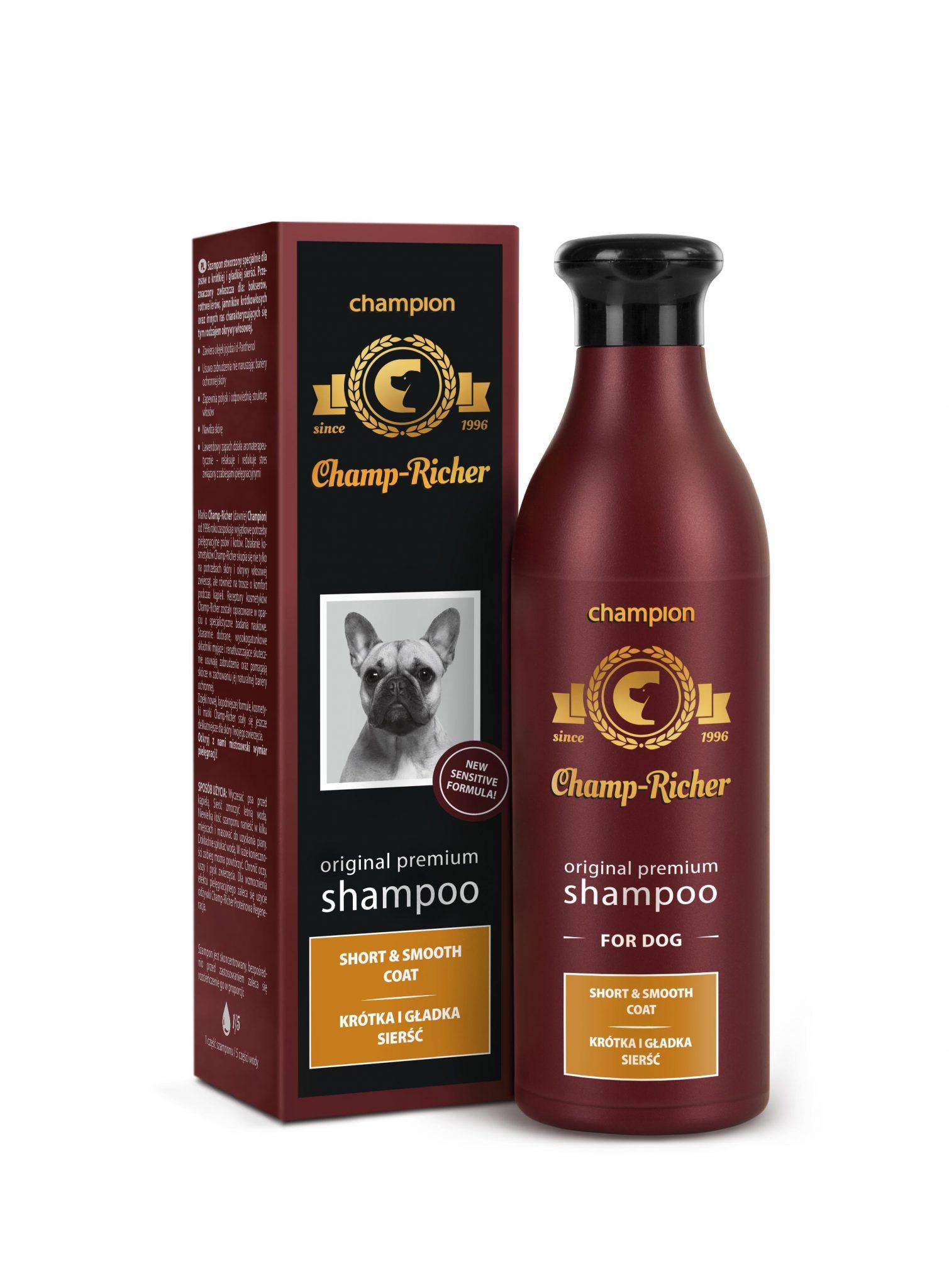 Champ-Richer szampon krótka i gładka sierść