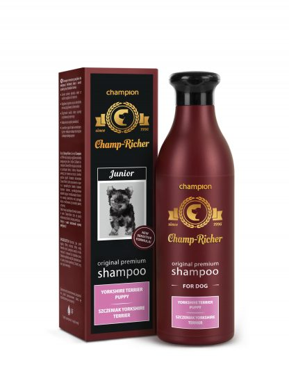 Champ-Richer szampon szczeniak Yorkshire Terrier