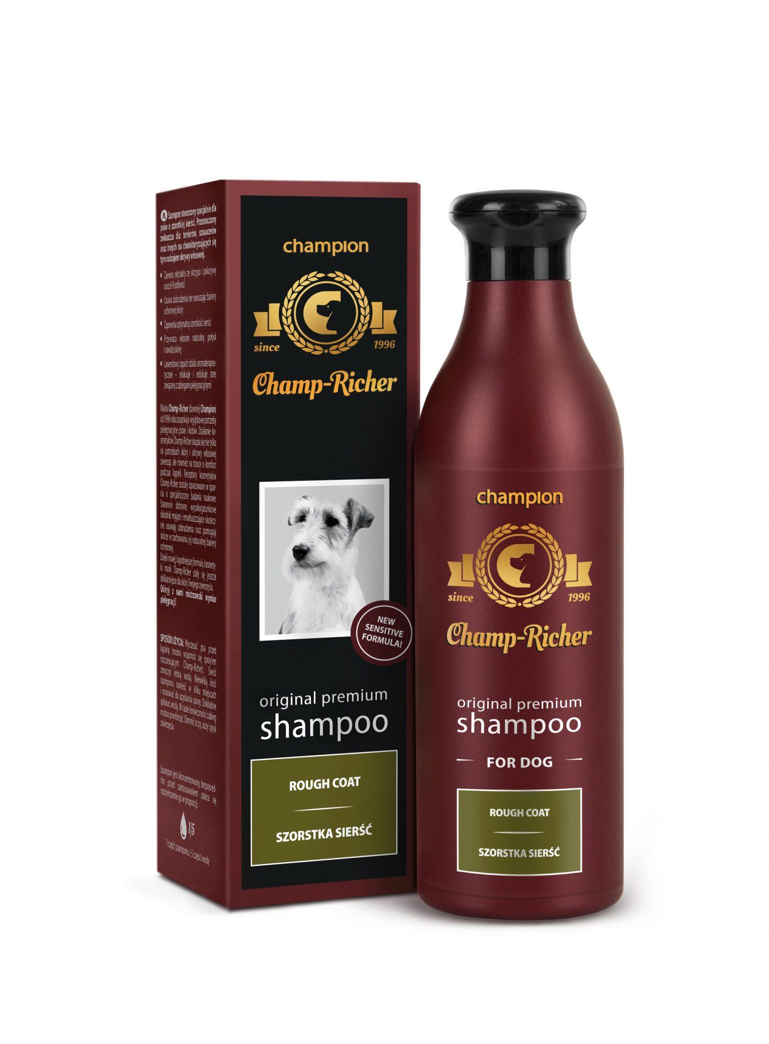 Champ-Richer szampon szorstka sierść